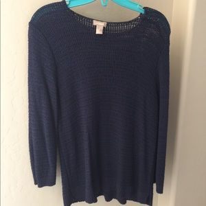 Chico's loose knit sweater